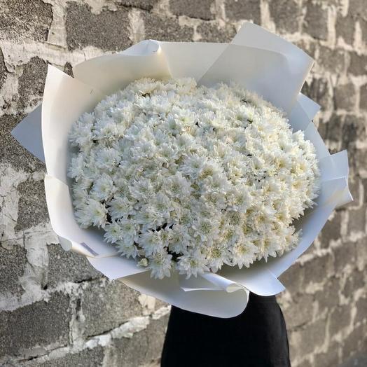Букет из кустовых Хризантем