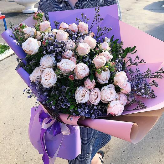 """Букет цветов """"Поэзия любви"""""""