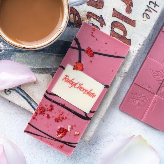 Шоколадная плитка «Руби шоколад», 50 г