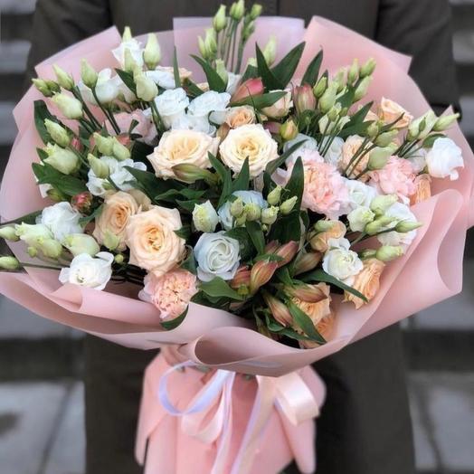 Букет цветов Марципан