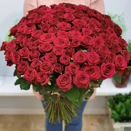 101 Роза Россия 70 см