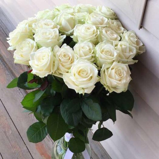 Роза белый шоколад