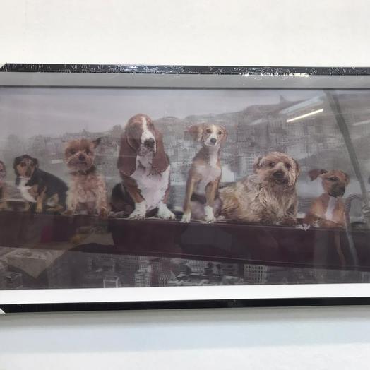 Картина собаки 3D