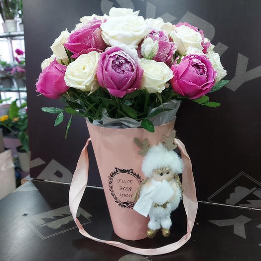 Розы с мороза