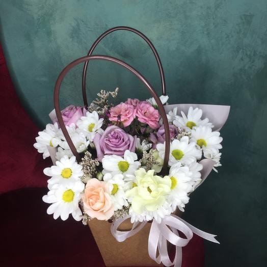 Цветы в сумочке 2