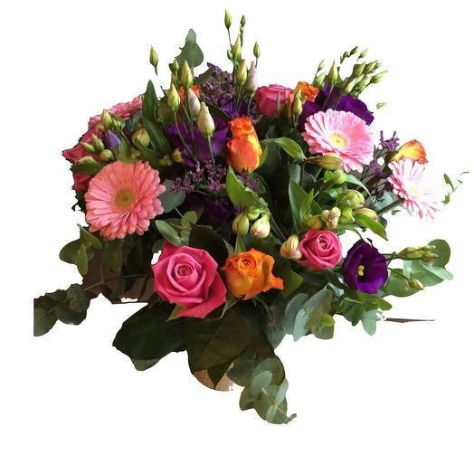 Colourful Bouquet Orange pink purple