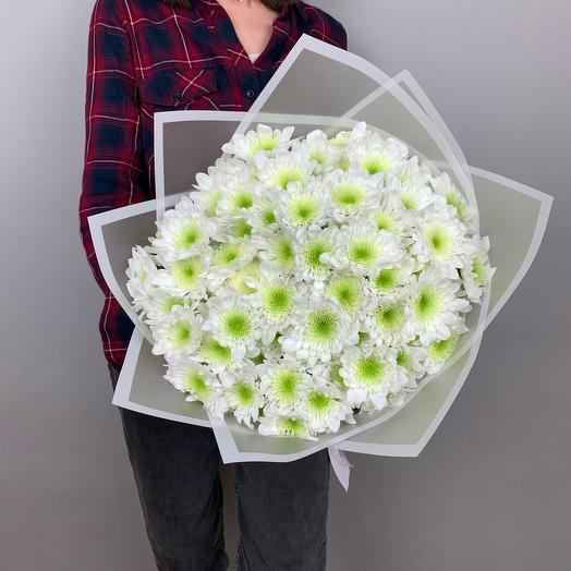 Букет «Белая хризантема»