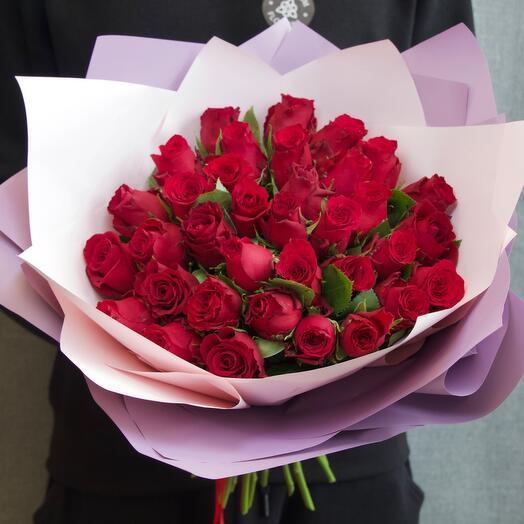 Кенийская Роза 40см (35шт)