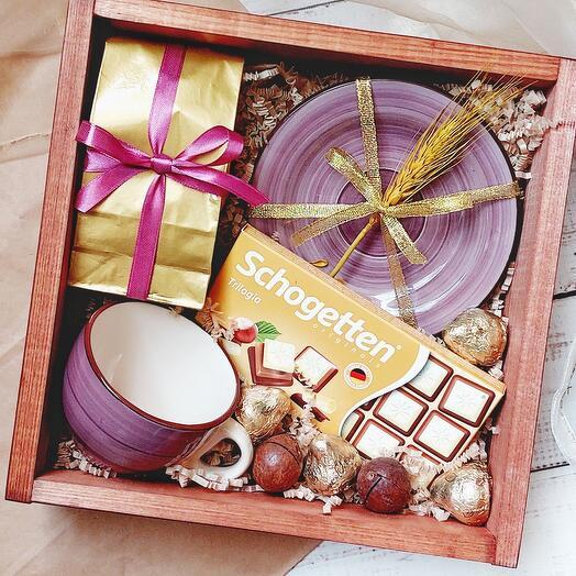 Подарочный набор с чайной парой