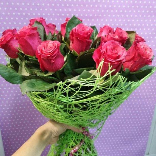 Яркое признание 1: букеты цветов на заказ Flowwow
