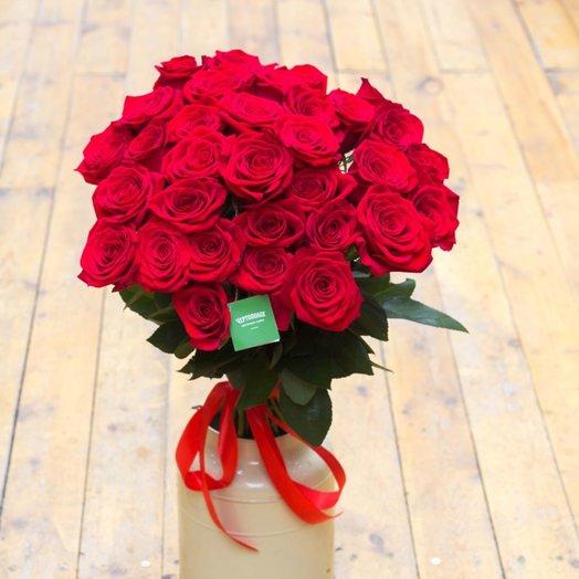 Букет Алый закат: букеты цветов на заказ Flowwow