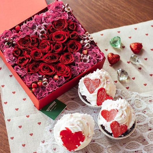 Сладкое для сладких: букеты цветов на заказ Flowwow