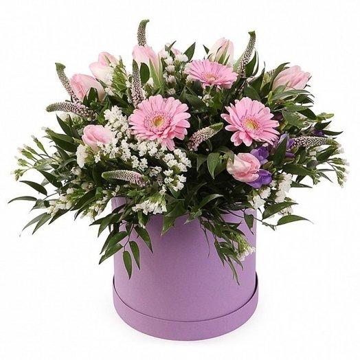 Коробка №4: букеты цветов на заказ Flowwow