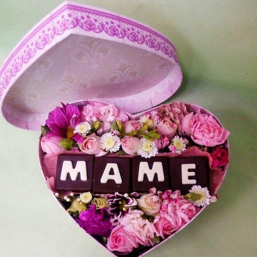 Дорогой маме: букеты цветов на заказ Flowwow