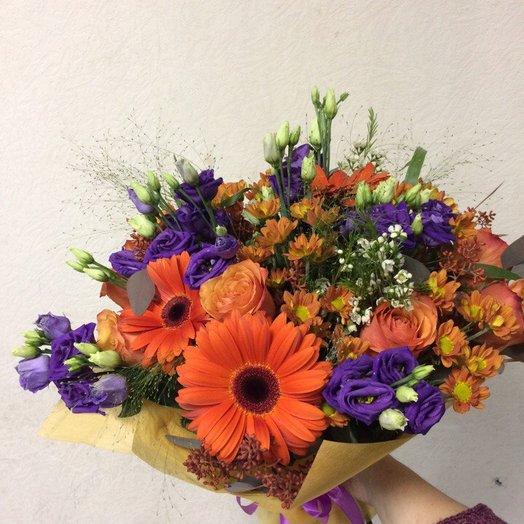 """Букет"""" Оранжевый закат"""": букеты цветов на заказ Flowwow"""
