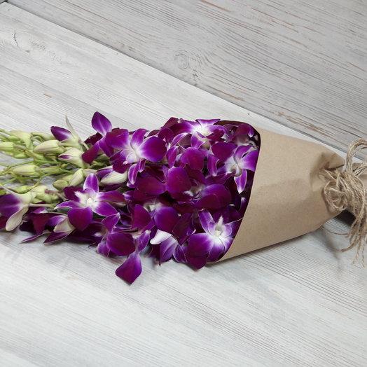 Орхидея 9 штук: букеты цветов на заказ Flowwow