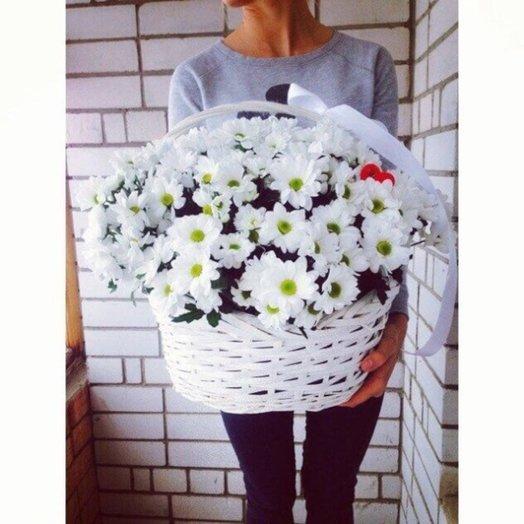 Солнечная корзина: букеты цветов на заказ Flowwow