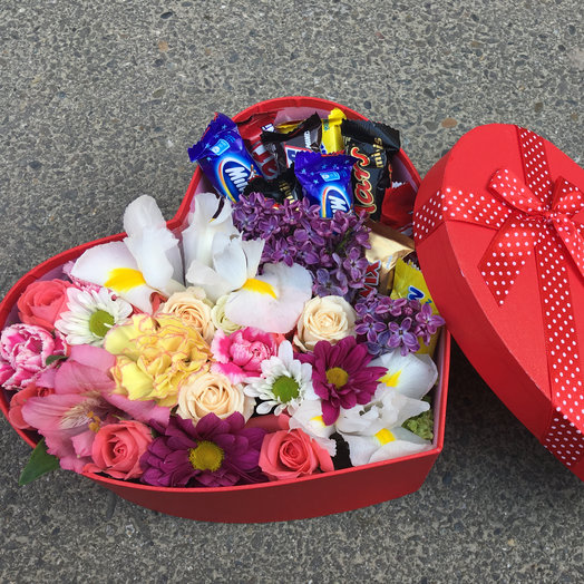 "Сердце малое ""Золотое сердце"": букеты цветов на заказ Flowwow"