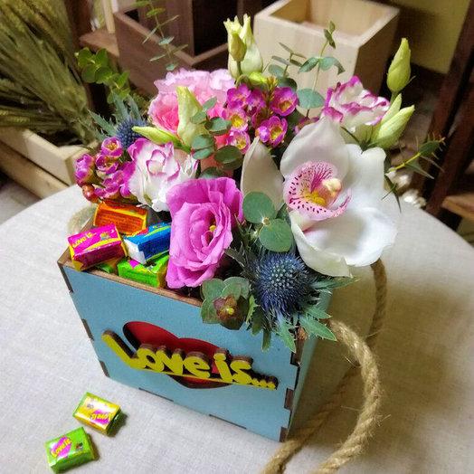 Композиция на 14 февраля 1: букеты цветов на заказ Flowwow