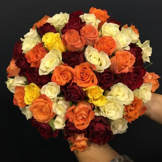 Букет микс: букеты цветов на заказ Flowwow