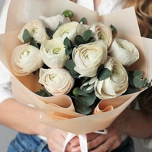 Белые, зимние, ТВОИ: букеты цветов на заказ Flowwow