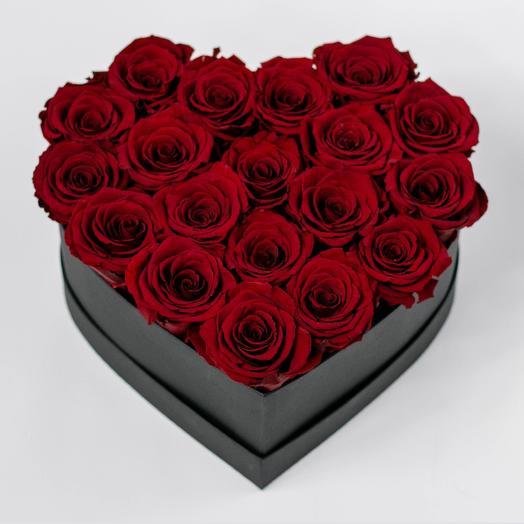 Черная любовь: букеты цветов на заказ Flowwow