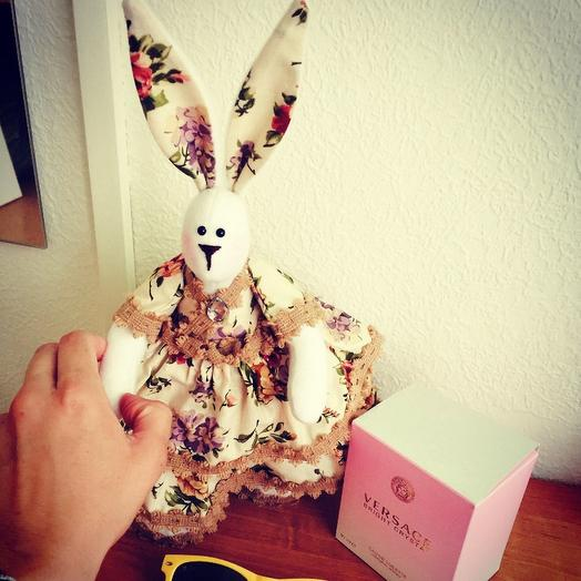 Заяц-тильда: букеты цветов на заказ Flowwow