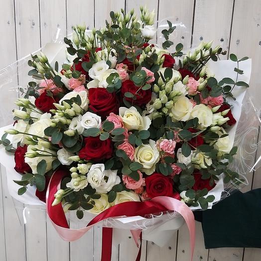 Классика восторга: букеты цветов на заказ Flowwow