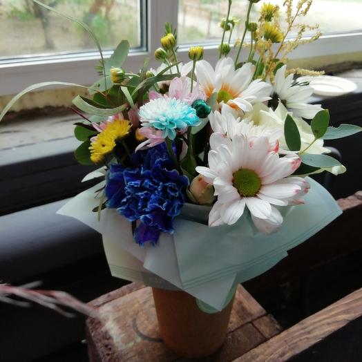 Кофе с собой: букеты цветов на заказ Flowwow