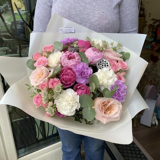 Букет-2: букеты цветов на заказ Flowwow