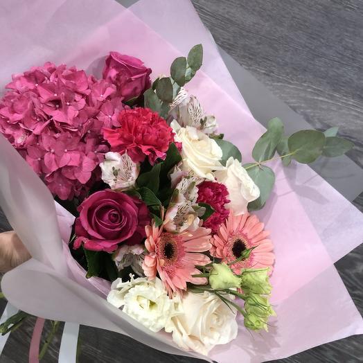 Белый букет, доставка цветов в городе воткинске