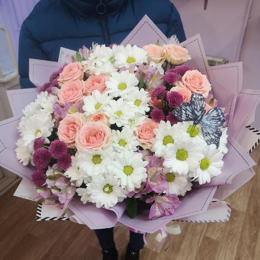 Летнее вдохновение: букеты цветов на заказ Flowwow