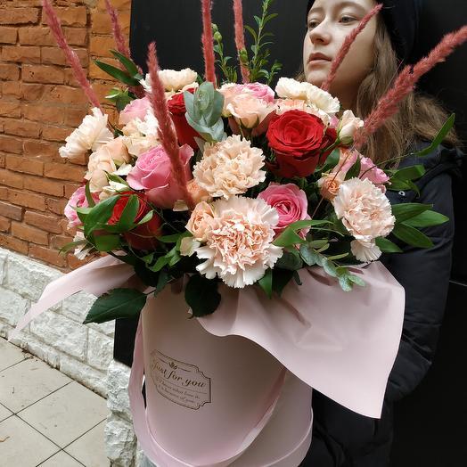 Сладостный поцелуй: букеты цветов на заказ Flowwow