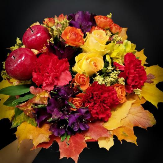 Обворожительная осень: букеты цветов на заказ Flowwow