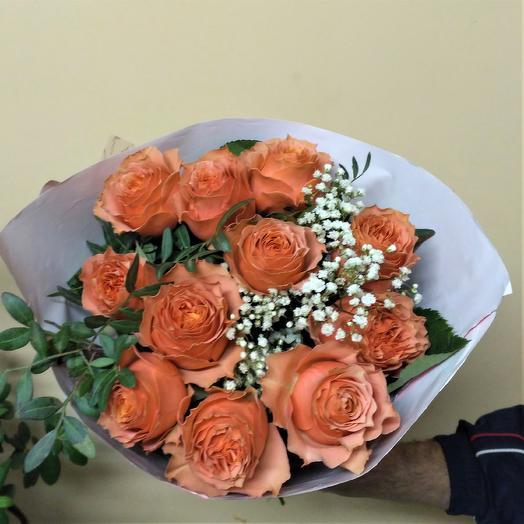 "Букет ""Краски осени-1"": букеты цветов на заказ Flowwow"