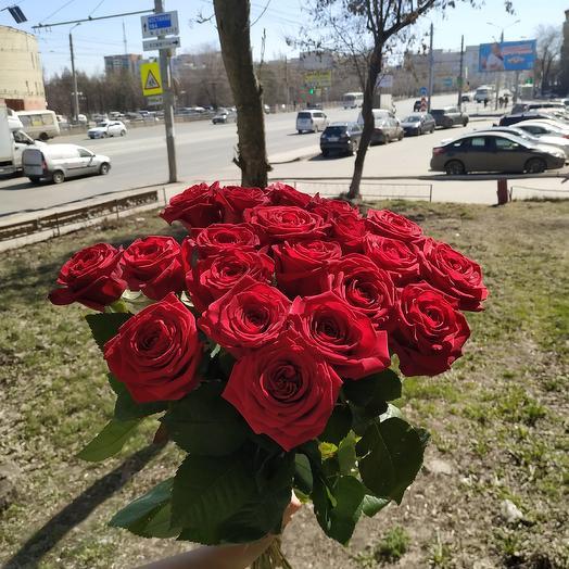 Букет роз (50см.): букеты цветов на заказ Flowwow