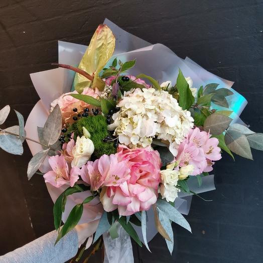 Тропический букет: букеты цветов на заказ Flowwow