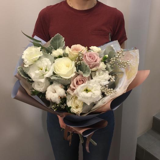 Букет иней: букеты цветов на заказ Flowwow