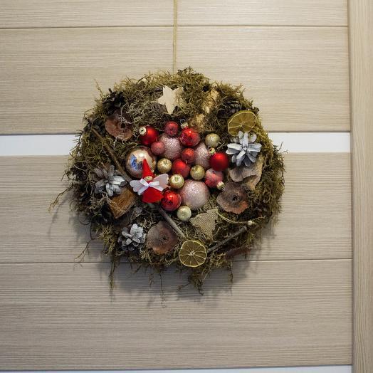 Berendeevo Kingdom Christmas wreath