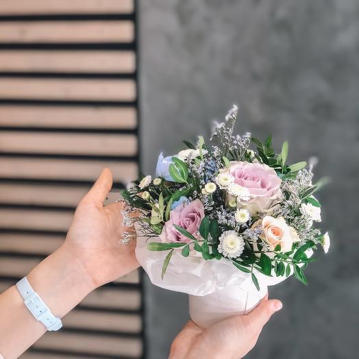 Цветочный стаканчик