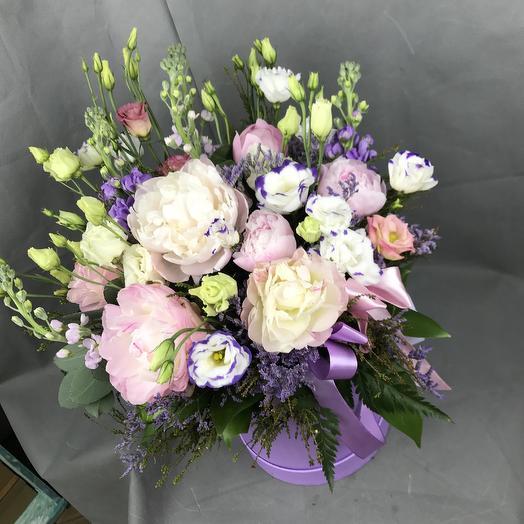 Композиция нежность пиона: букеты цветов на заказ Flowwow