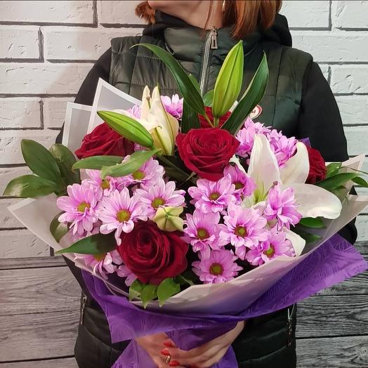 """Букет """" Яркая жизнь"""": букеты цветов на заказ Flowwow"""