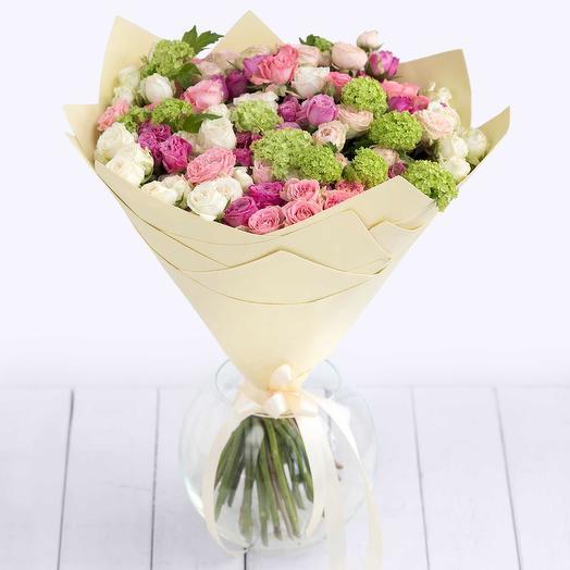Букет цветов Ваниль