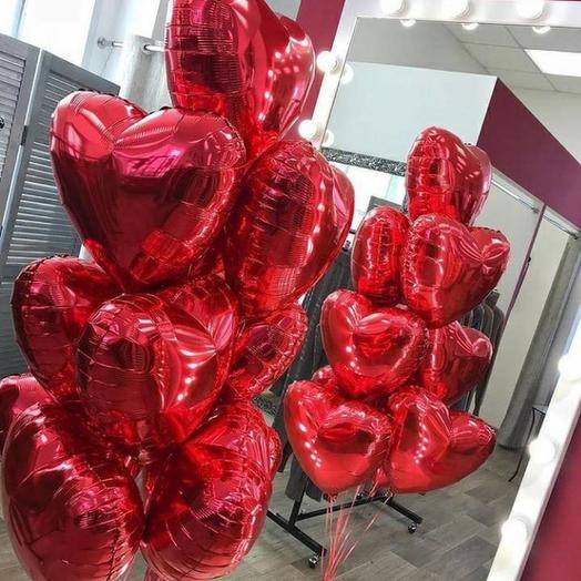 10 сердец