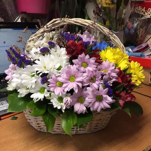 Корзина с цветами «ЛиЛи»