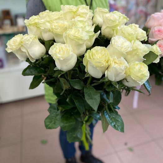 Акция на розу Эквадор