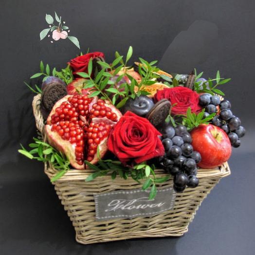 Фруктово-ягодное лукошко