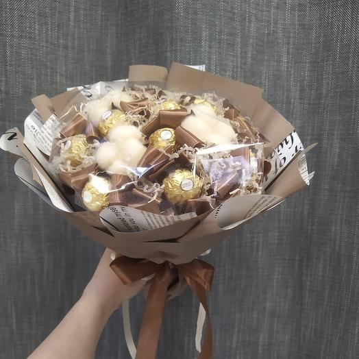 Букет из конфет