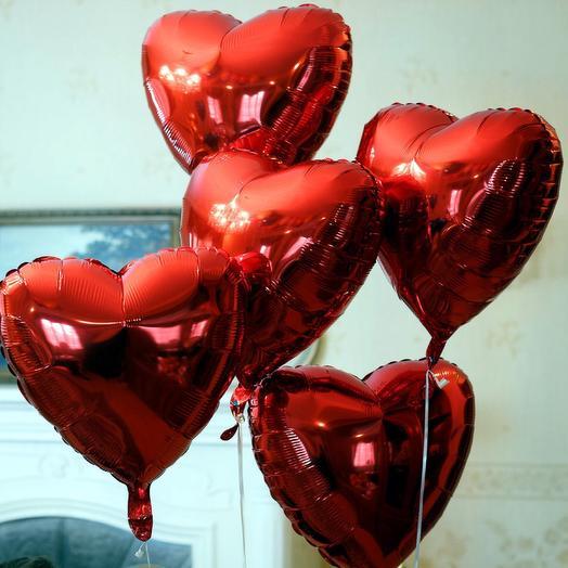 5 сердец