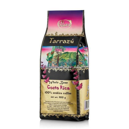 Кофе в зернах El Gusto Tarrazu Коста-Рика 900 грамм